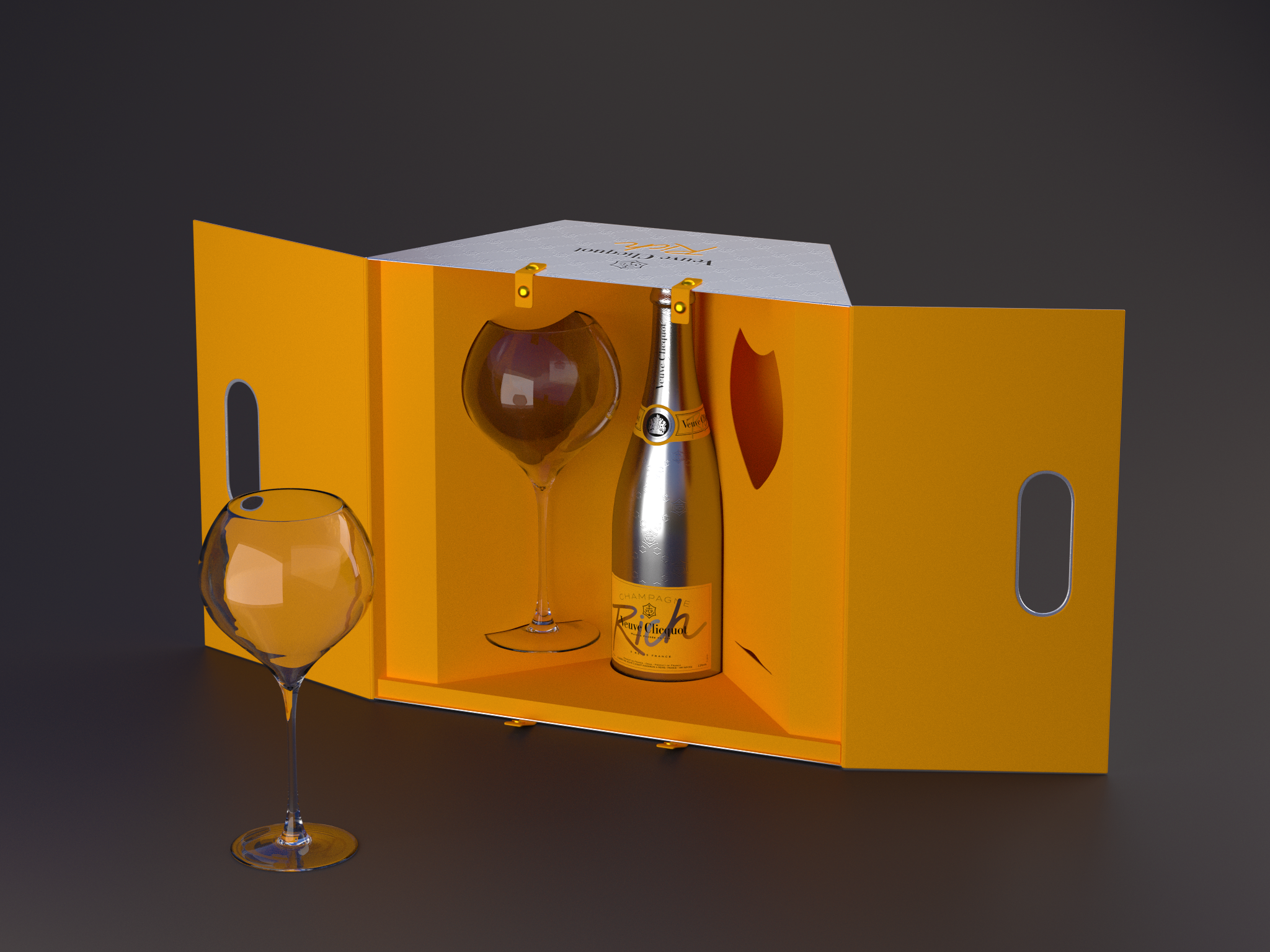 pack Clicquot Rich